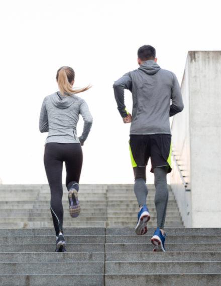 Course à pied et bien-être
