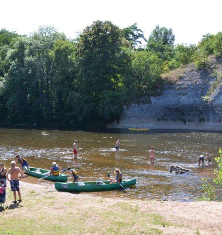 canoe rocher