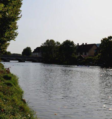 rivière les promenades