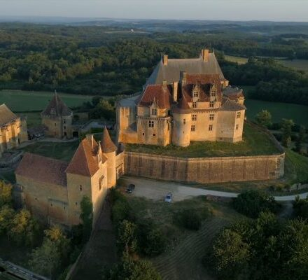 château de BIRON2