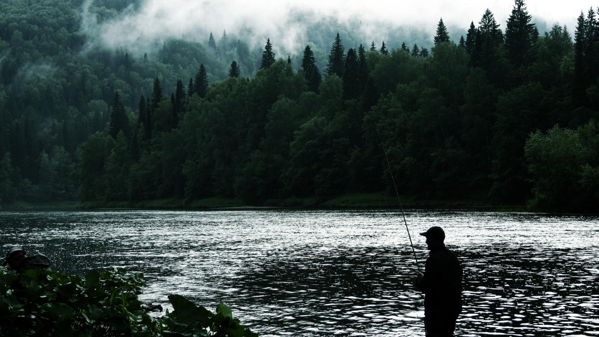 Pêche dans la région des lacs du Jura