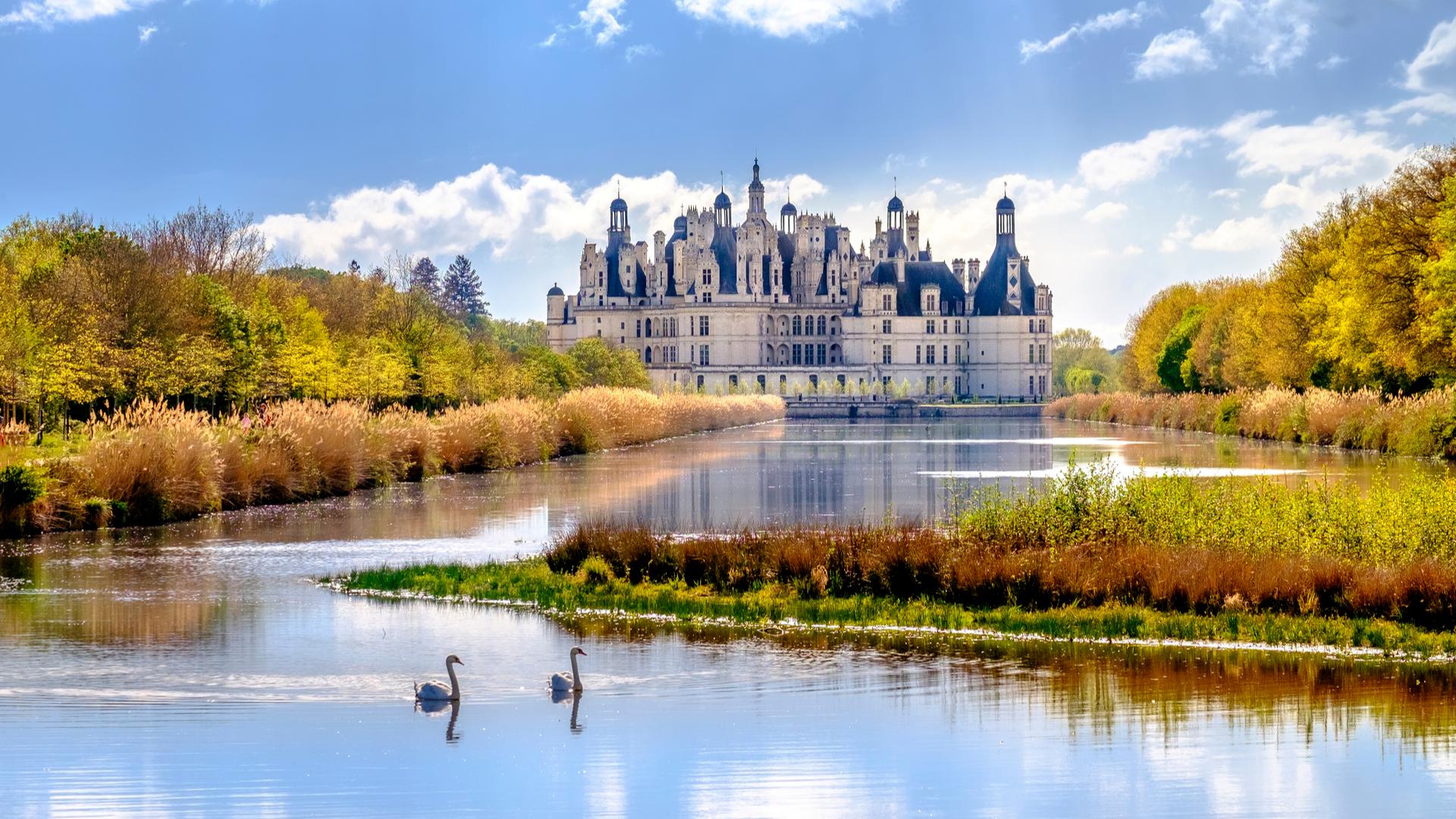 Château de Chambord dans le Loir-et-Cher