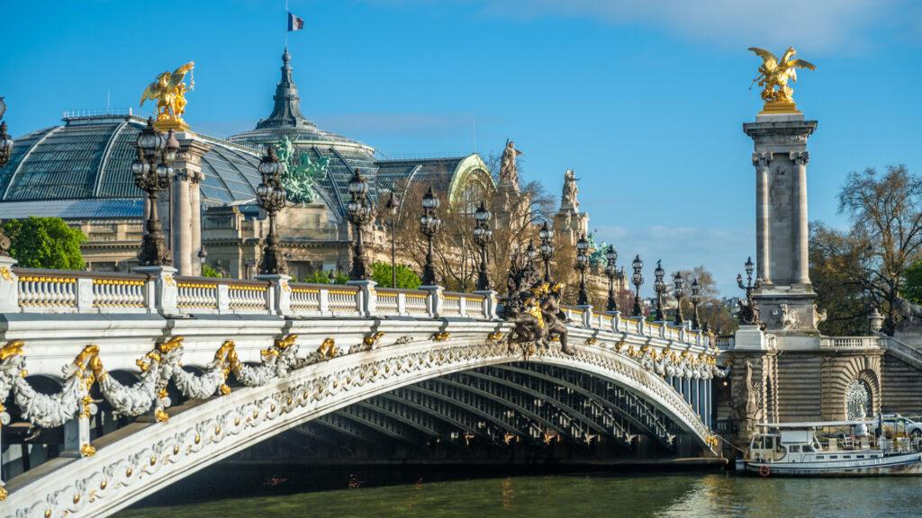 Le Grand-Palais et le Pont Alexandre III