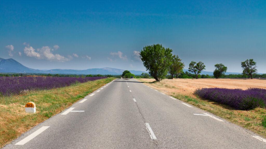 Sur les routes de Provence