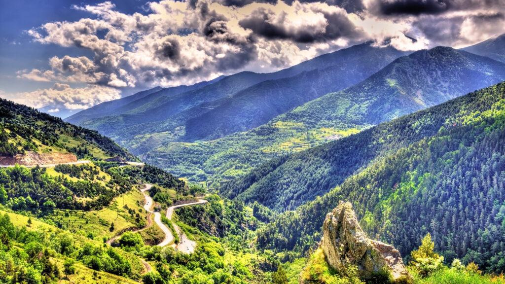 Route des Pyrénées catalanes