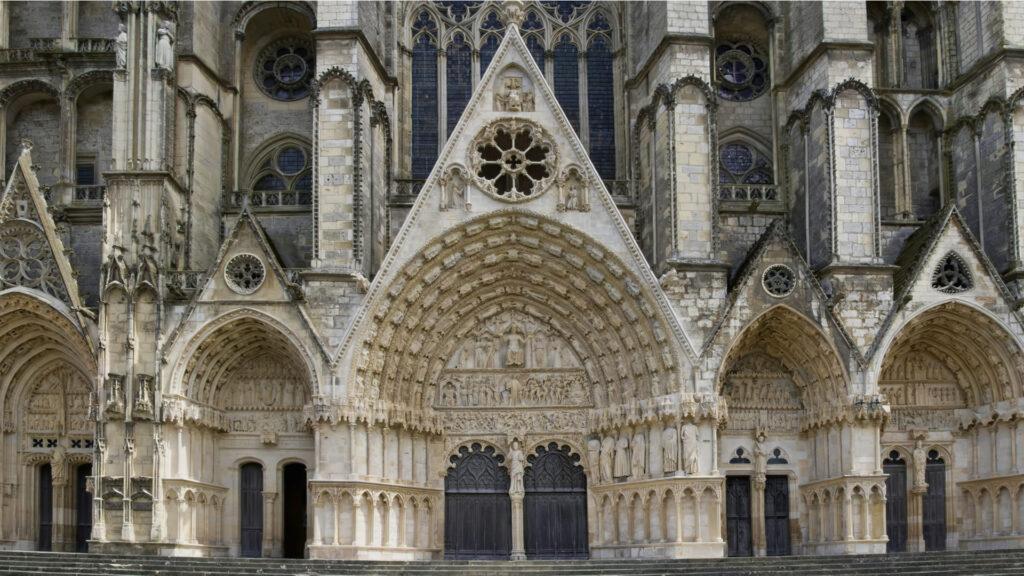 Décor de la cathédrale de Bourges
