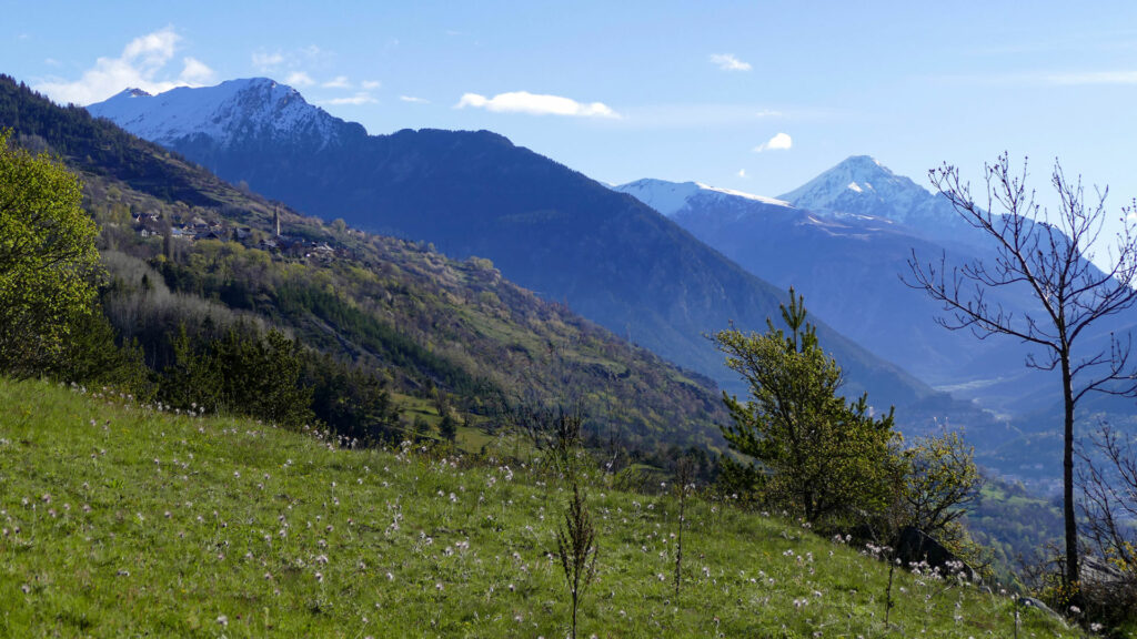 Trail au camping de l'Iscle de Prelles