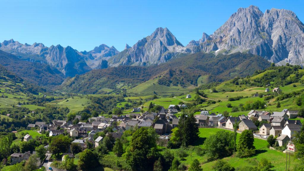 Lescun dans les Pyrénées
