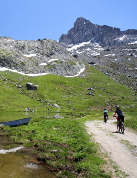VTT dans les Hautes-Alpes