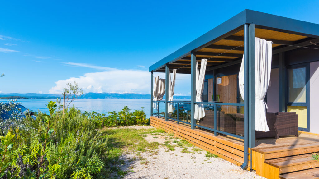 mobil home plage