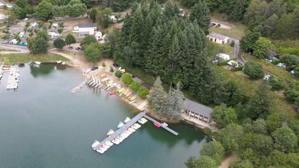 Base nautique du lac de Villefort