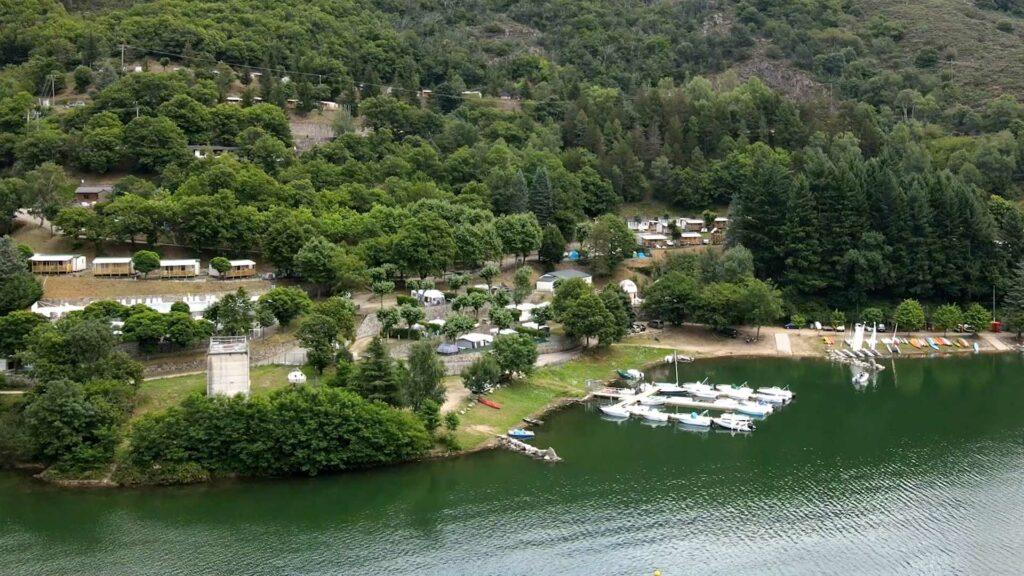 Camping du lac de Villefort