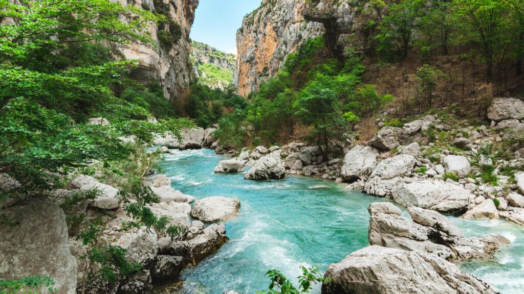 Le canyon du Verdon, loin de la foule