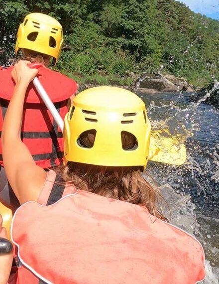 Rafting dans les gorges de l'Allier