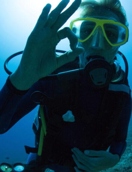 Plongée sous-marine dans l'Hérault