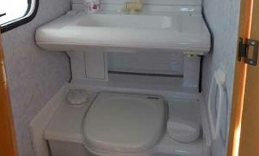 Salle de bain caravane