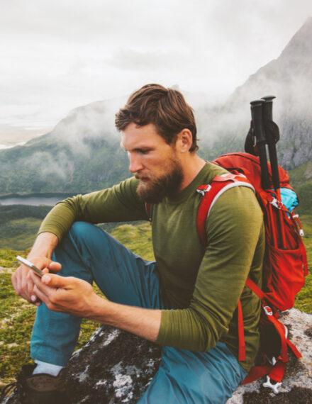 L'application AllTrails est idéale pour la randonnée