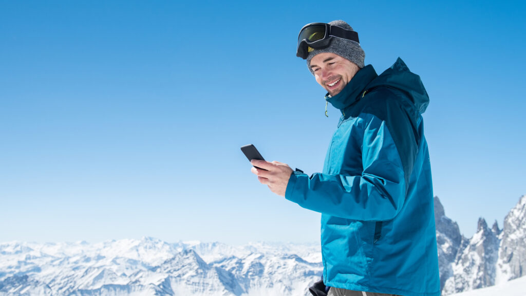 Une application mobile pour le ski