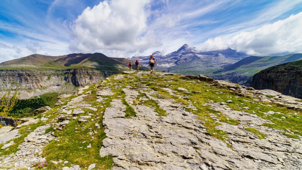 Randonnée sur le site Pyrénées Mont-Perdu