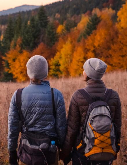 Plaisir de randonner en automne
