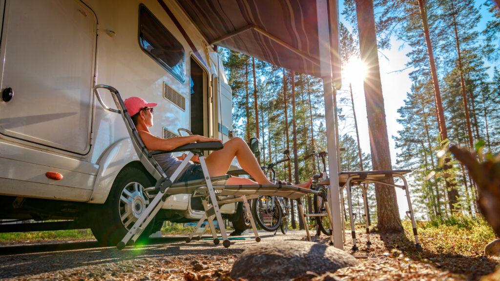 Tranquillité du camping-car