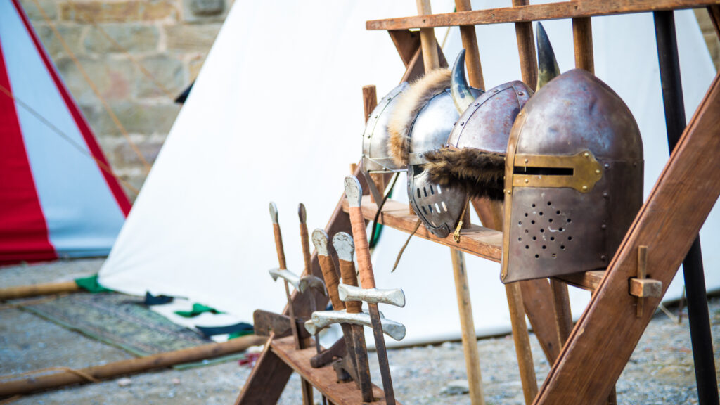 Fête médiévale au coeur de la Cité de Carcassonne