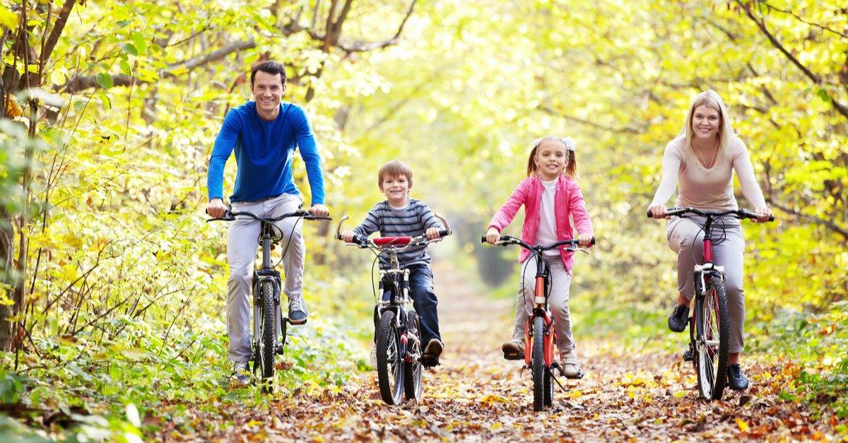 Balade en famille sur les Voies Vertes de France