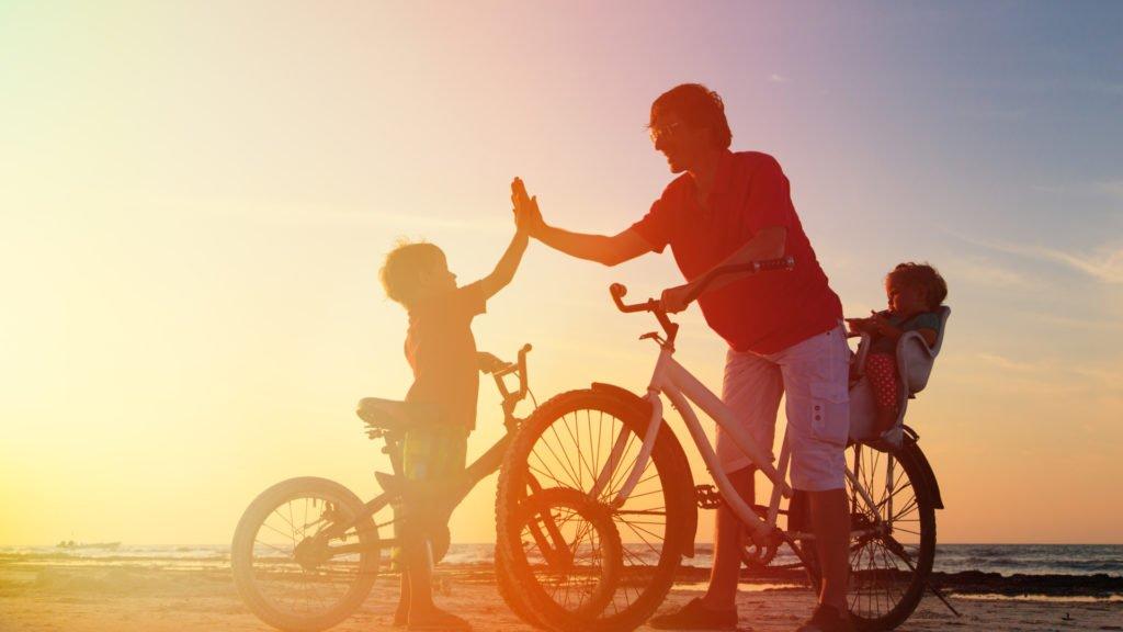 Vélo en famille à Agde