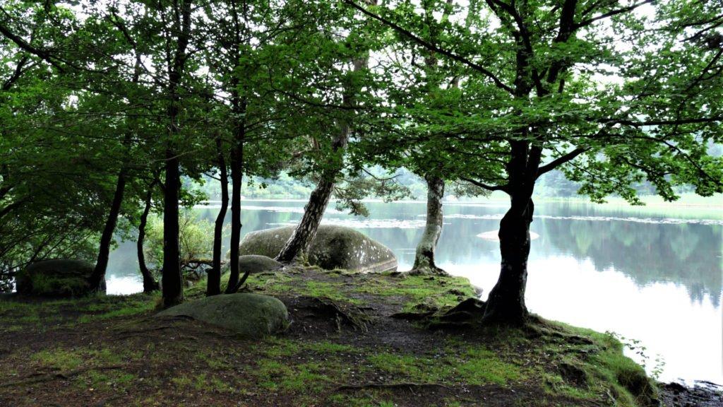 Lac du Merle dans le Sidobre