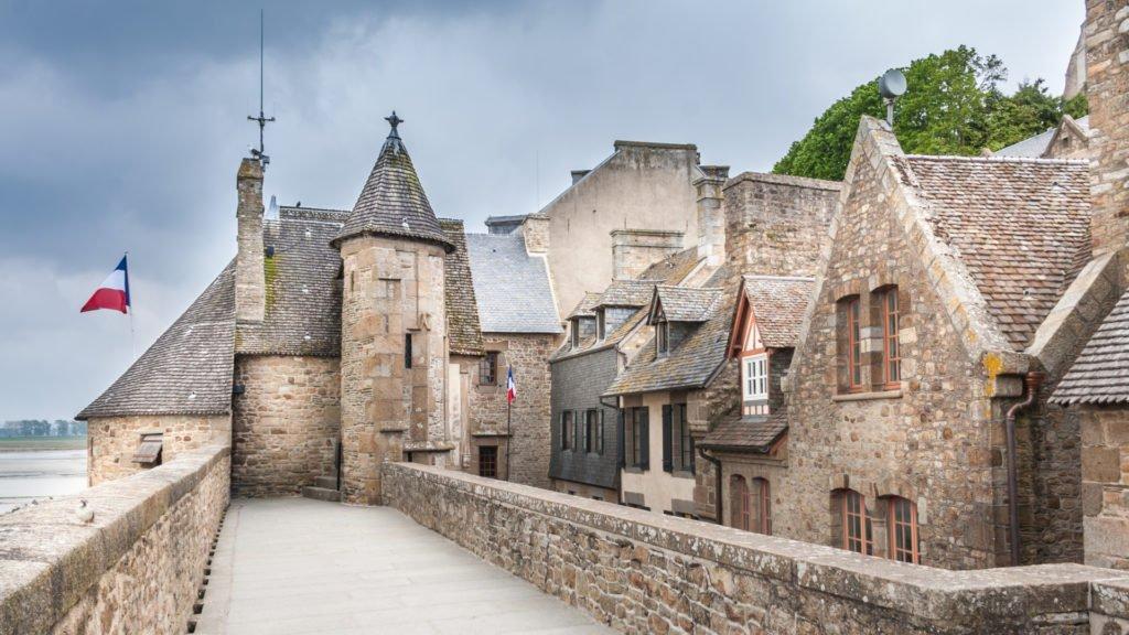 Village fortifié du Mont Saint-Michel