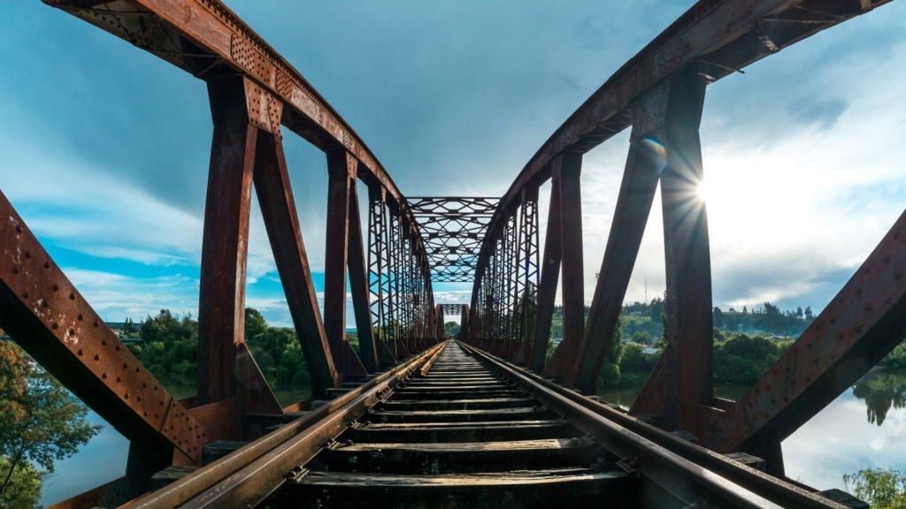 Ponts et trains d'autrefois