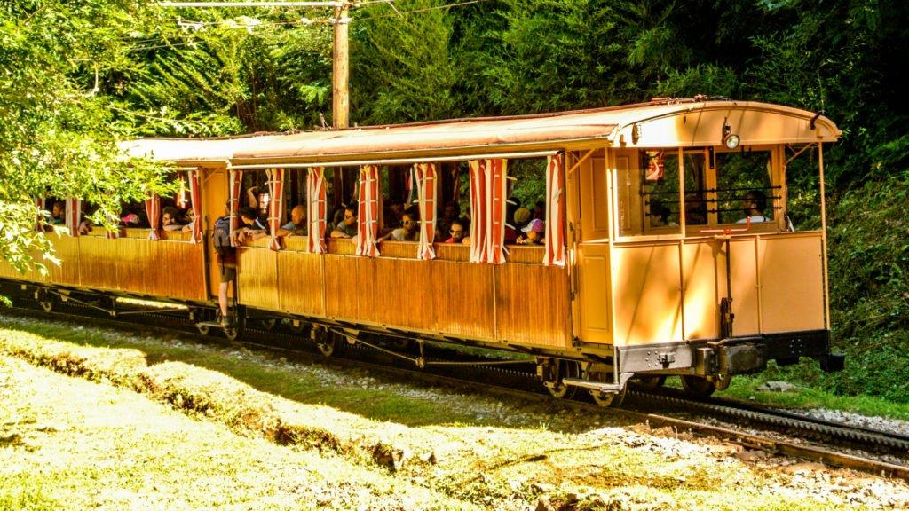 Trains d'autrefois : Le train de la Rhune