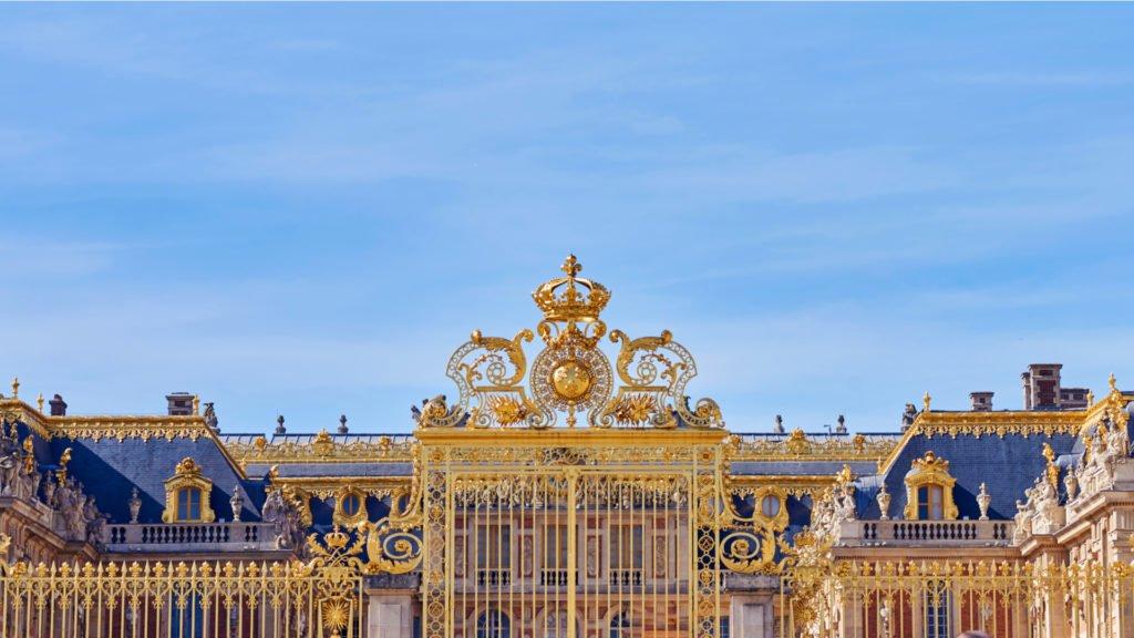 L'entrée du château de Versailles