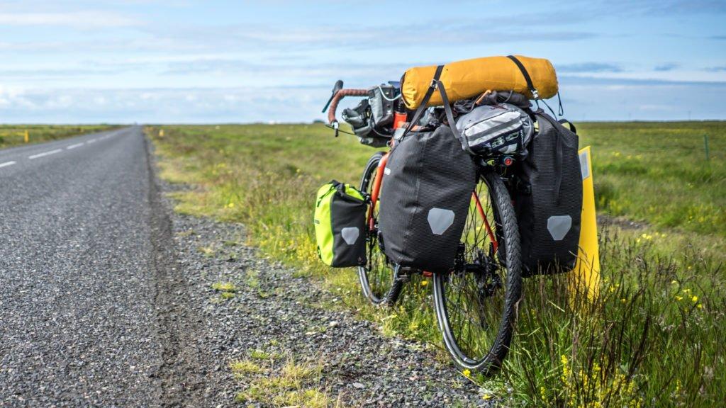 En pleine nature à vélo