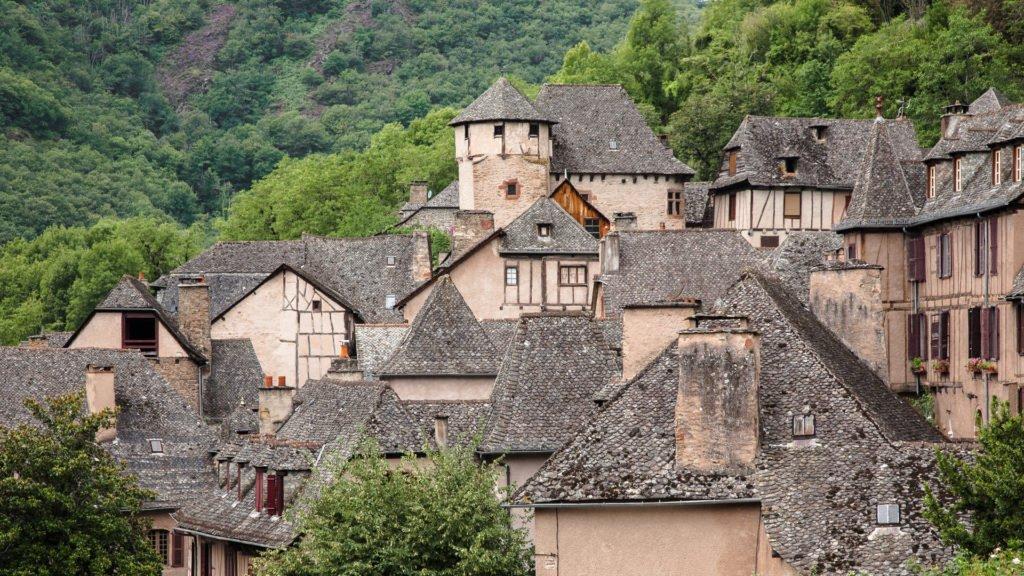 Village de Conques en Aveyron
