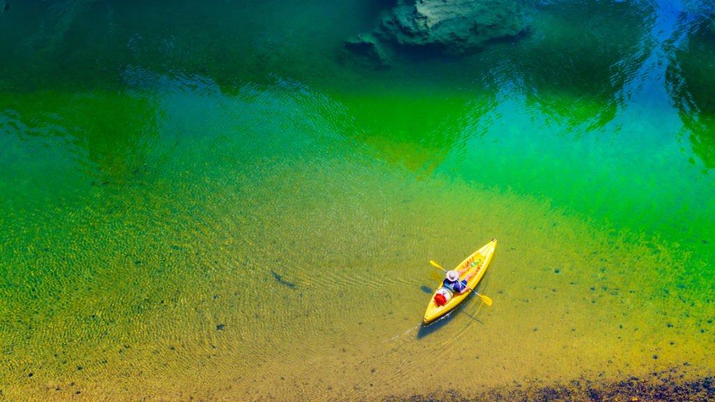 Kayak sur le Tarn