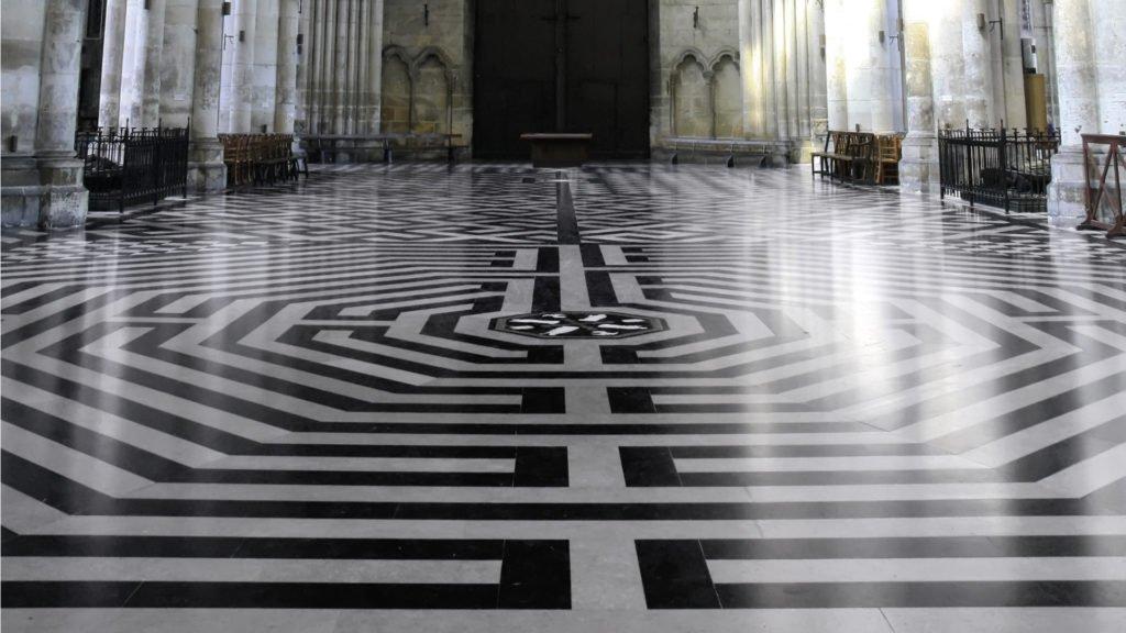 Labyrinthe de la Cathédrale d'Amiens