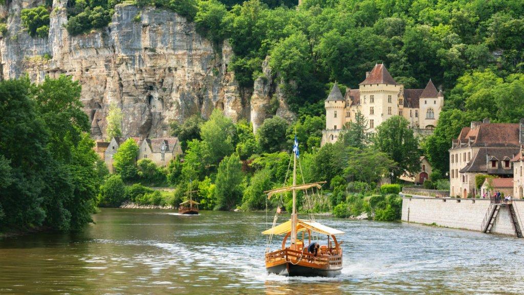 Plus beaux villages de Dordogne : La Roque-Gageac