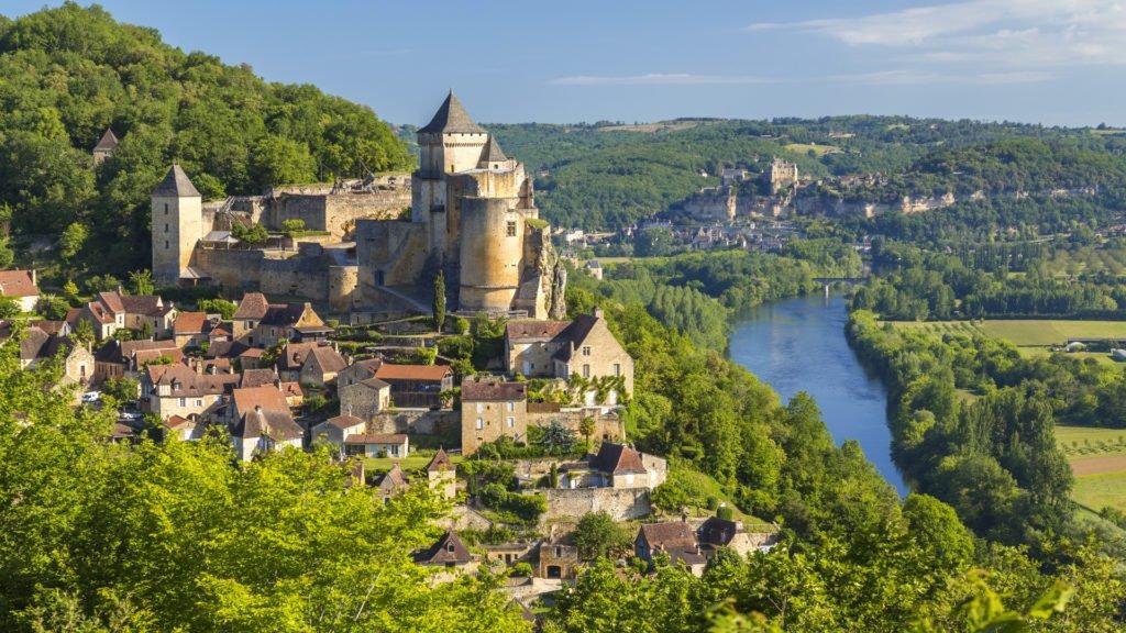 Plus beaux villages de Dordogne : Castelnaud-la-Chapelle