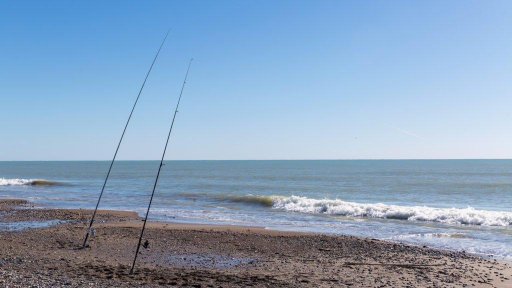 Une journée de pêche à la plage