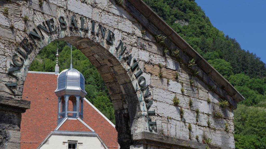 La grande saline de Salines-les-Bains