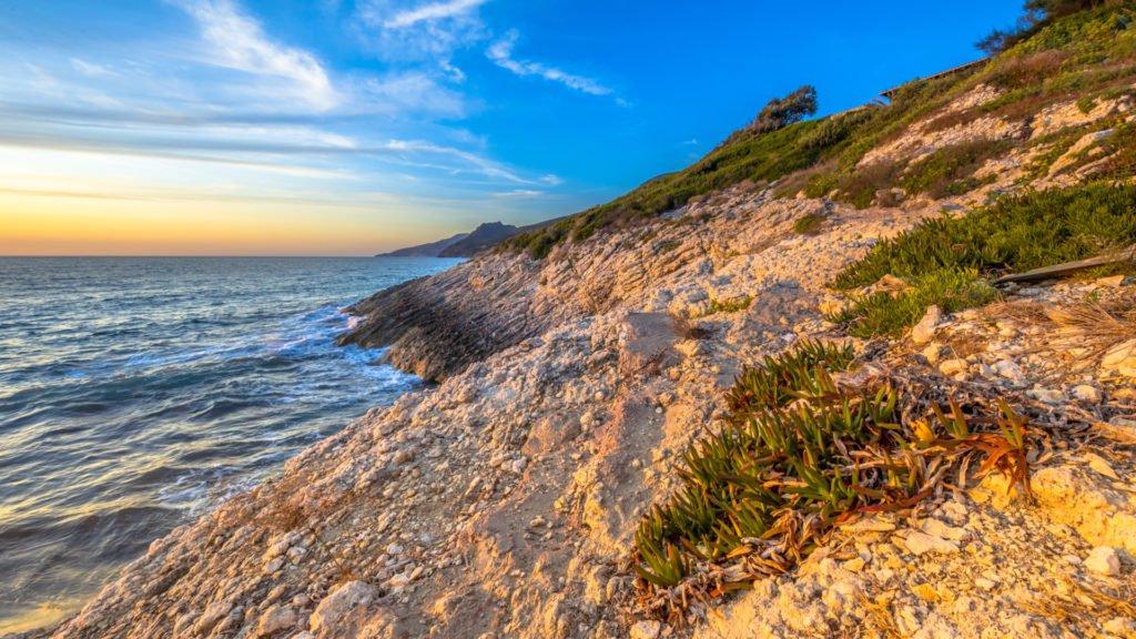 Le sentier du littoral de la pointe du Cap Corse