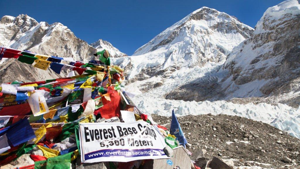 Camp de base Everest