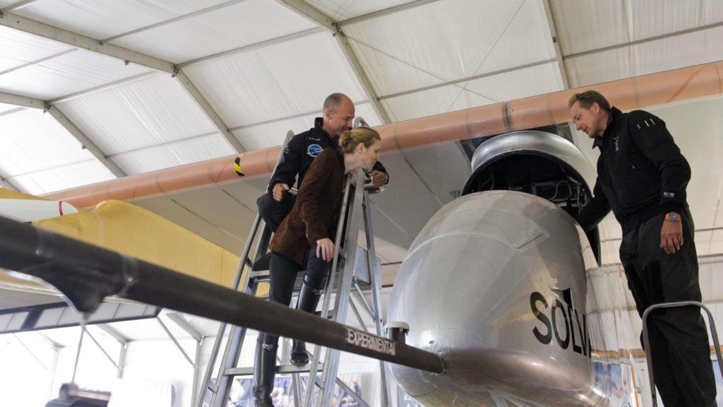 Solar Impulse et Bertrand Piccard