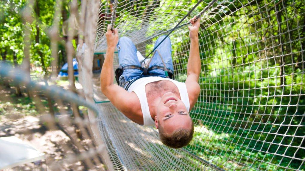 Les parcours acrobatiques. Plus qu'un loisir... Un sport complet !