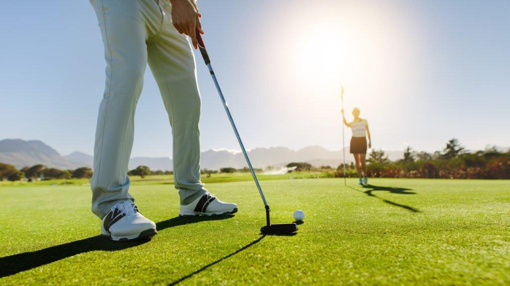 Pratiquer le golf en couple
