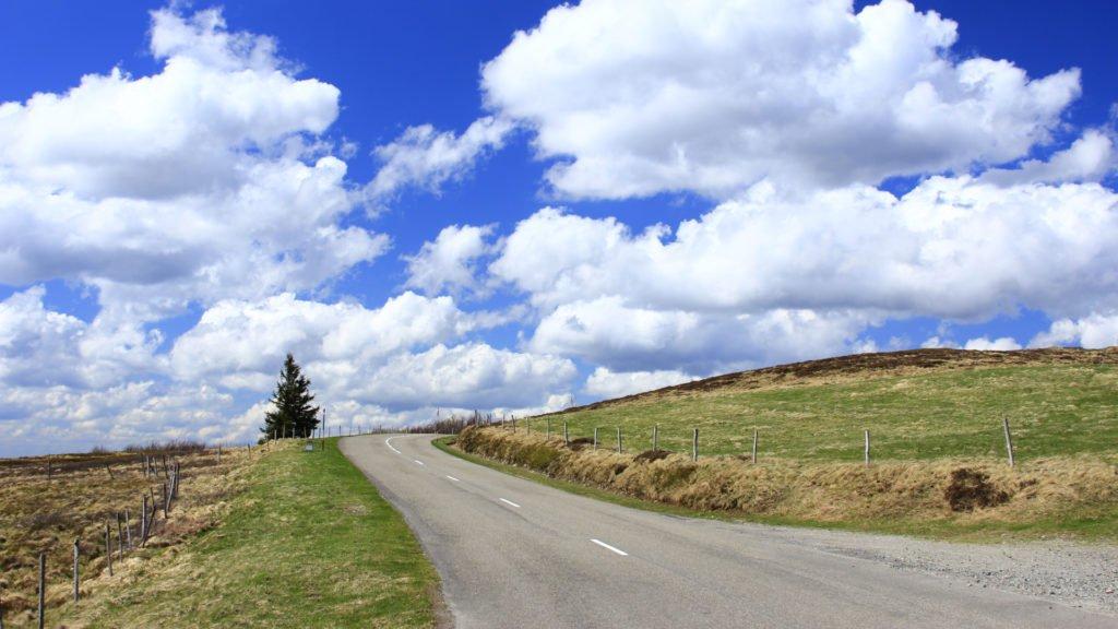 Road-trip à moto sur la route des Crêtes d'Alsace