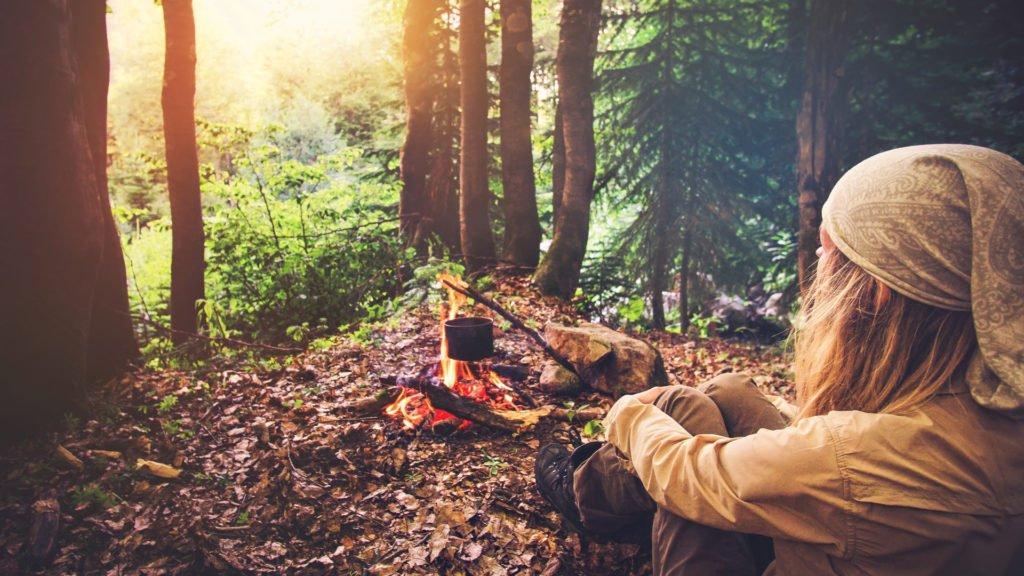 Vacances d'automne au camping