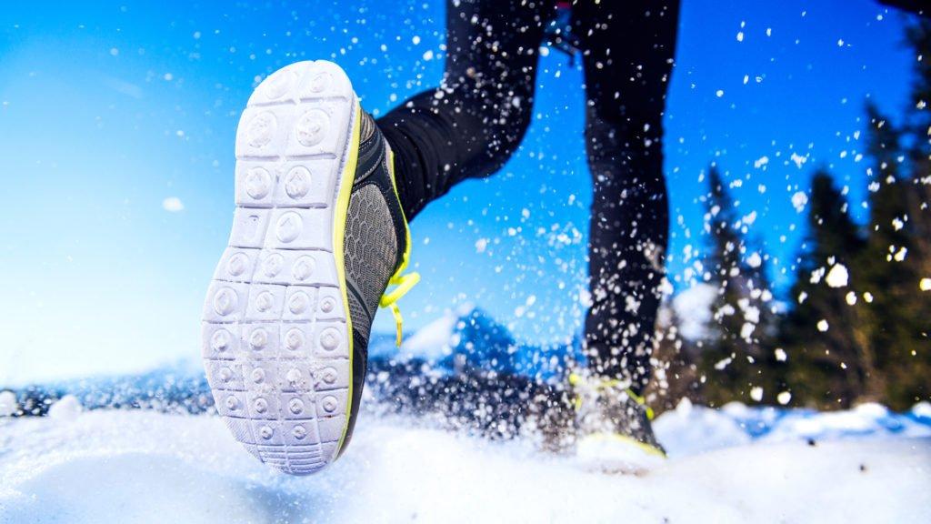Prêt pour la marche en hiver